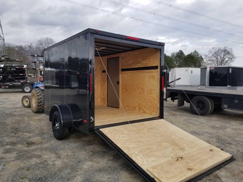 2021 Freedom 7x10 black out ramp door black