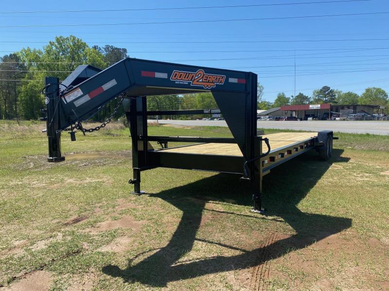 Down 2 Earth Trailers 34' 2 Car Hauler Gooseneck