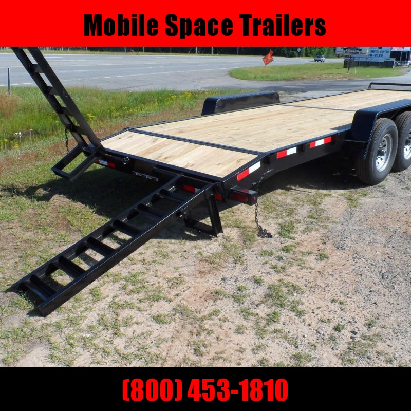 Down 2 Earth Trailers 82x24 14k Equipment Trailer