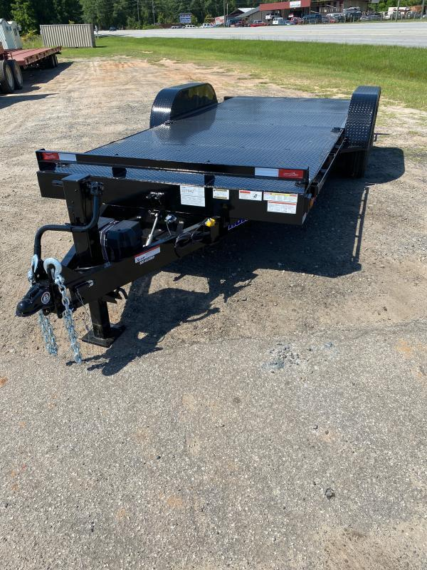 Hawke Trailers equipment 80x20 15k Hydraulic tilt deck Equipment Trailer