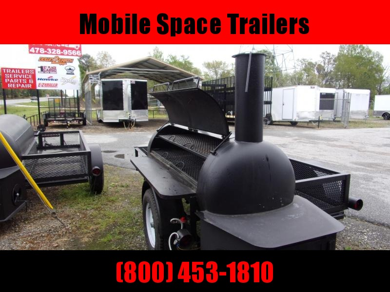 Bubba Grills  250R510 Reverse Flow Smoker Vending / Concession Trailer