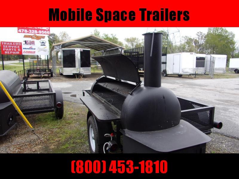 Bubba Grills  250R510 Reverse Flow Smoker Vending / Concession Trailer