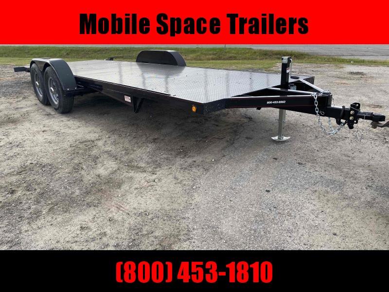 Kwik Load 22' Black Roll Back Tilt Car / Racing Trailer