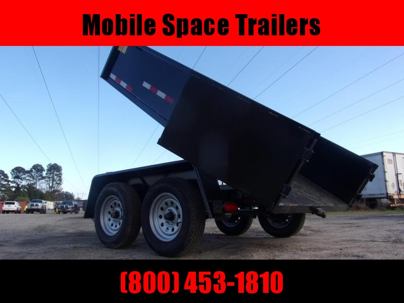 "Down 2 Earth Trailers 6x10 24"" high side 7k Dump Trailer"