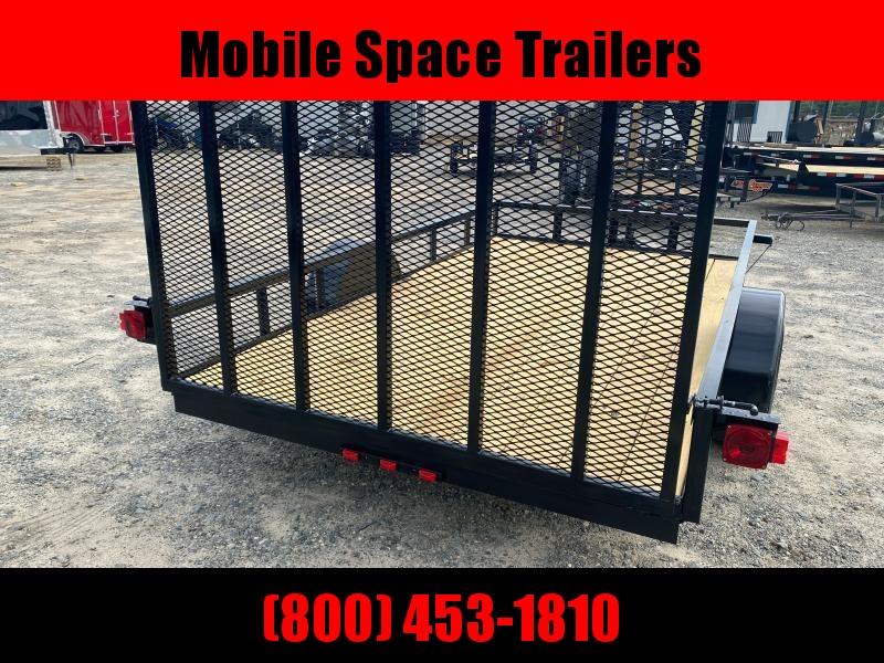 Down 2 Earth Trailers 76x12ut Utility Trailer Flat Deck