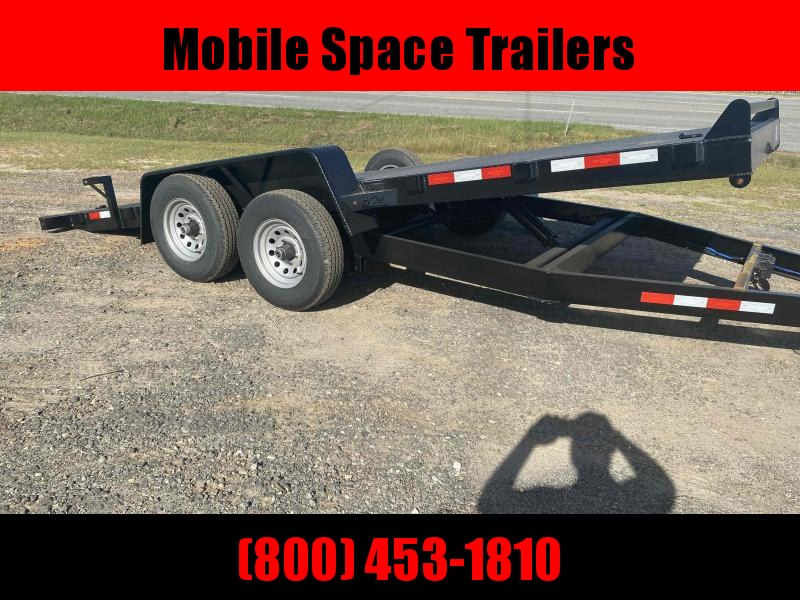 82x18 10k Gravity Tilt Steel Deck Equipment Trailer