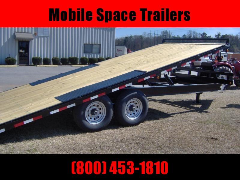 Down 2 Earth Trailers 102x24 Power Tilt 14k Equipment Trailer
