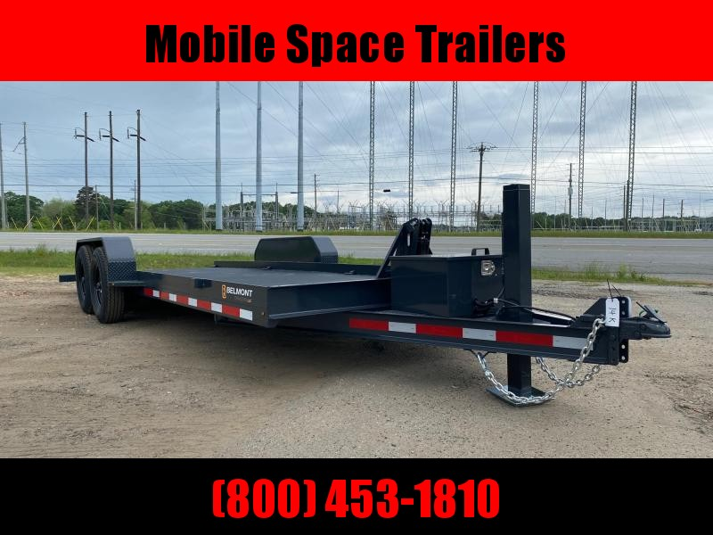 Belmont Trailers equipment 80x20 10k Hydraulic tilt deck Equipment Trailer