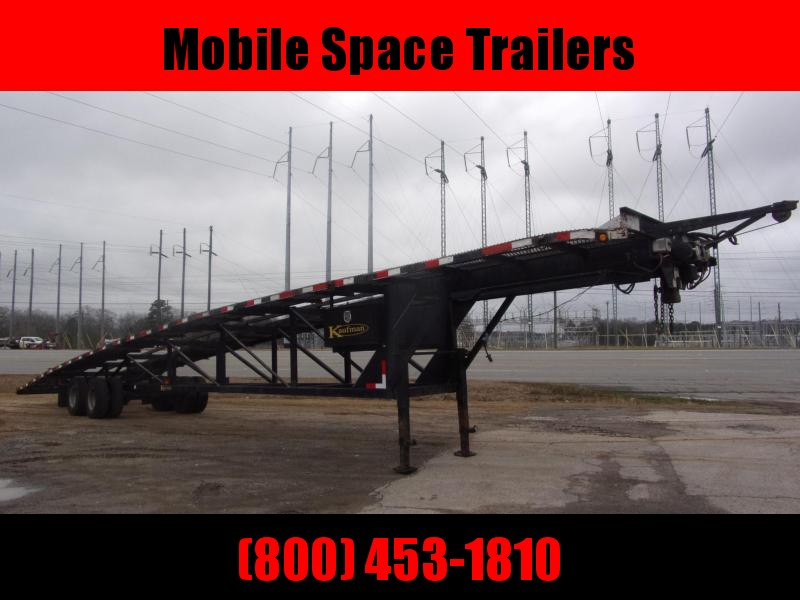 Kaufman Trailers 50 3 Car Hauler Gooseneck Wedge
