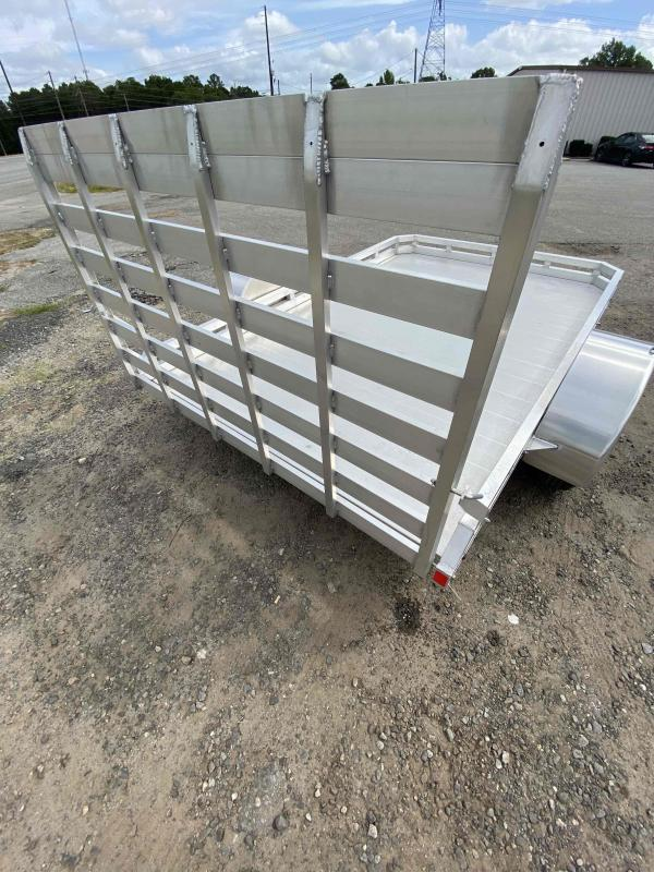2019 Mission 6.5x10 Motorcycle 2.0 Utility Trailer