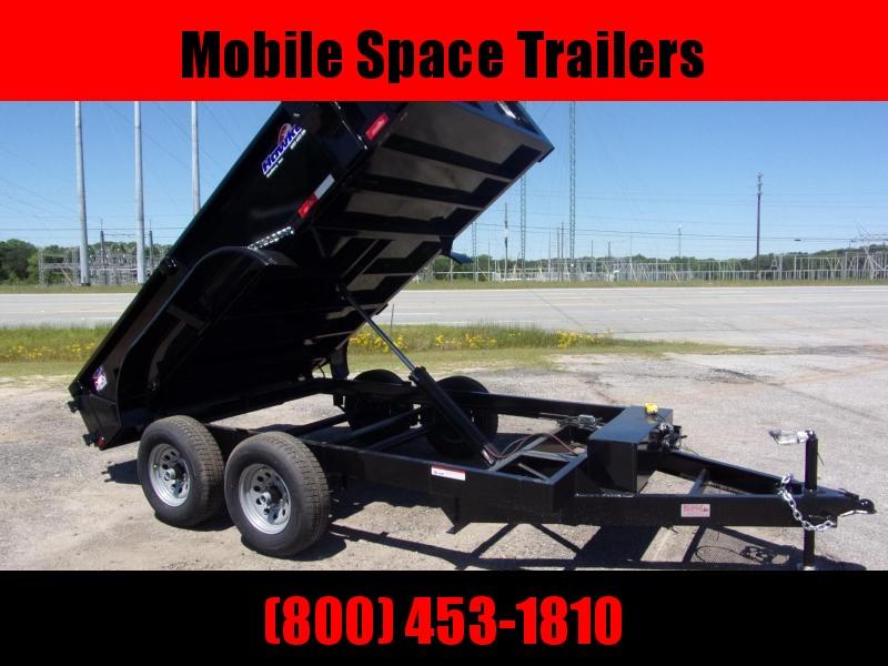 """Hawke 6x12 20"""" high side 10k Low Pro Dump Trailer"""