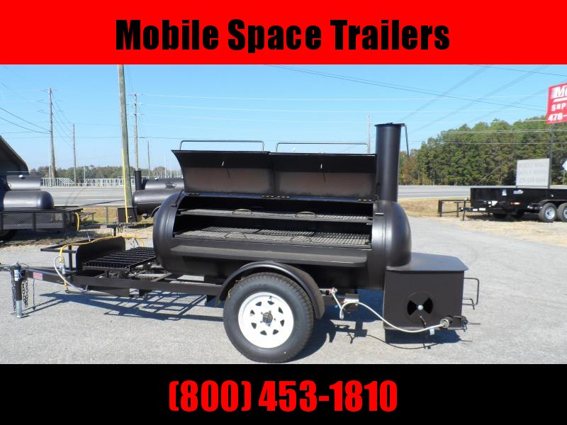 Bubba Grill Smoker 250R310 Reverse Flow Vending / Concession Trailer