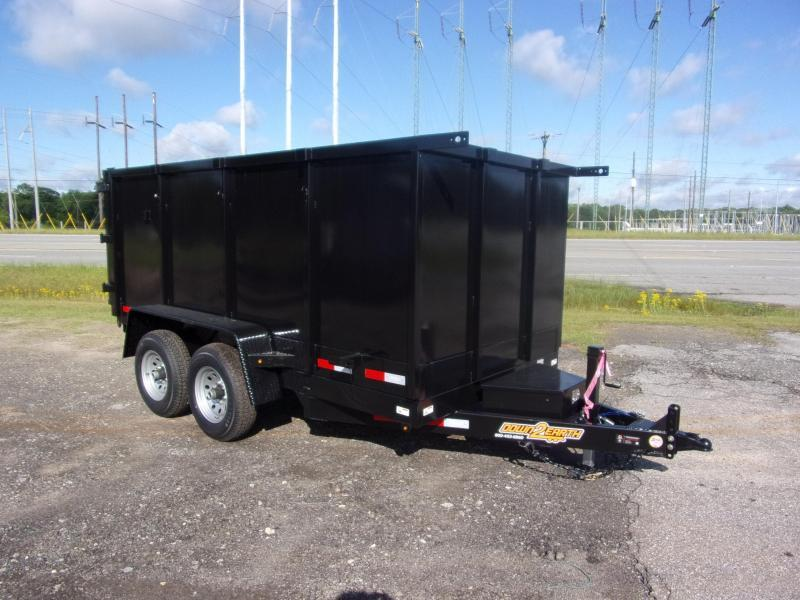 Down 2 Earth Trailers 6x12 48 high side 10k Dump Trailer