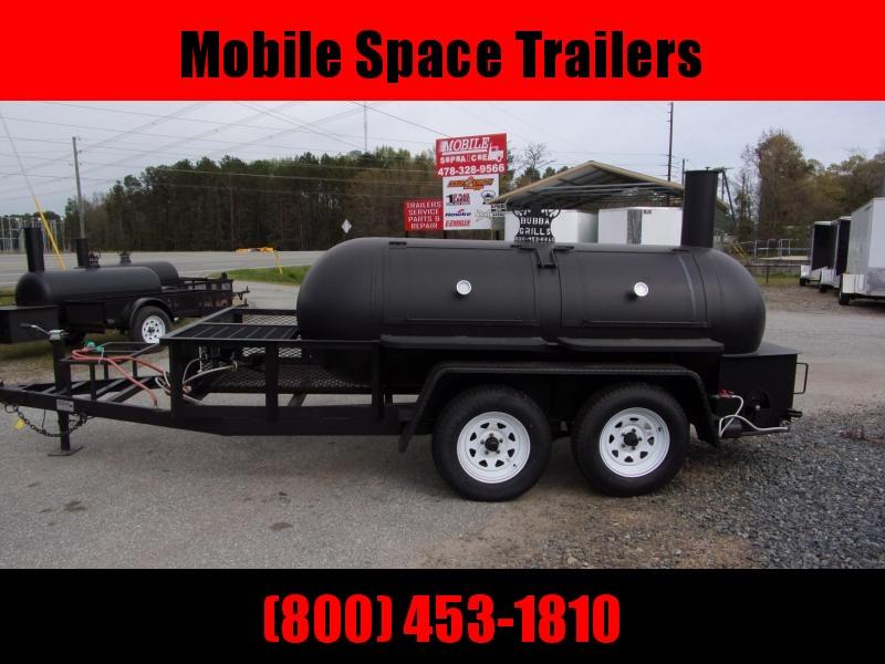 Bubba Grills  500R612 TA Reverse Flow Smoker Vending / Concession Trailer