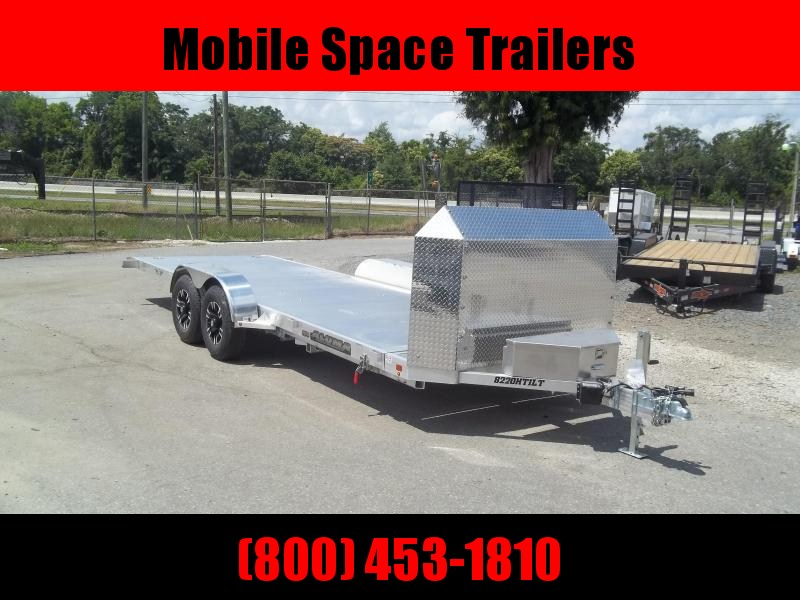 2021 Aluma 8220 h tilt 25 anniversary 7x20 Car / Racing Trailer