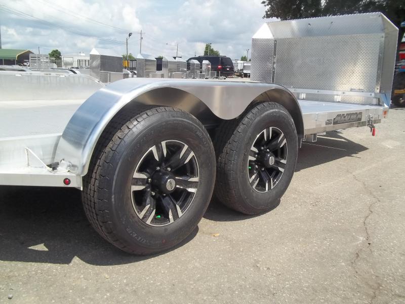 2021 Aluma 8220 h tilt 25 anniversary 7x20 Car / Racing Trailer