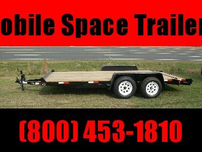 Down 2 Earth Trailers 22' Car Hauler Wood Deck