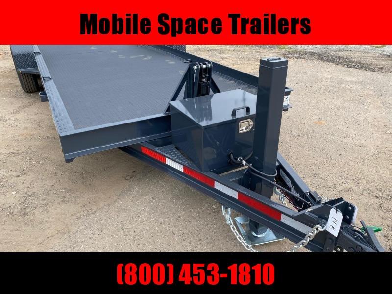 Belmont Trailers equipment 80x20 10k Hydraulic tilt deck Equipment Trailer