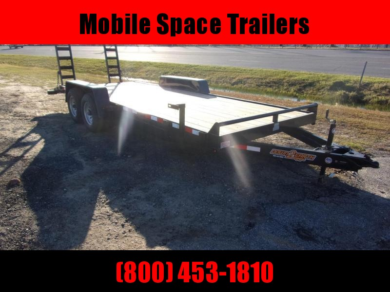 Down 2 Earth Trailers 82x22 10k Equipment Trailer
