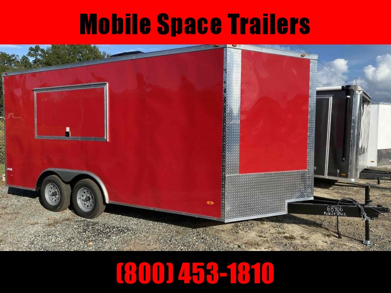 8.5x16 Concession Finished Interior Air Condition Vending / Concession Trailer