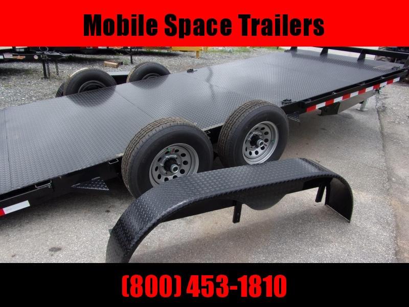 Hawke Trailers equipment 82x20 10k Hydraulic tilt deck Equipment Trailer