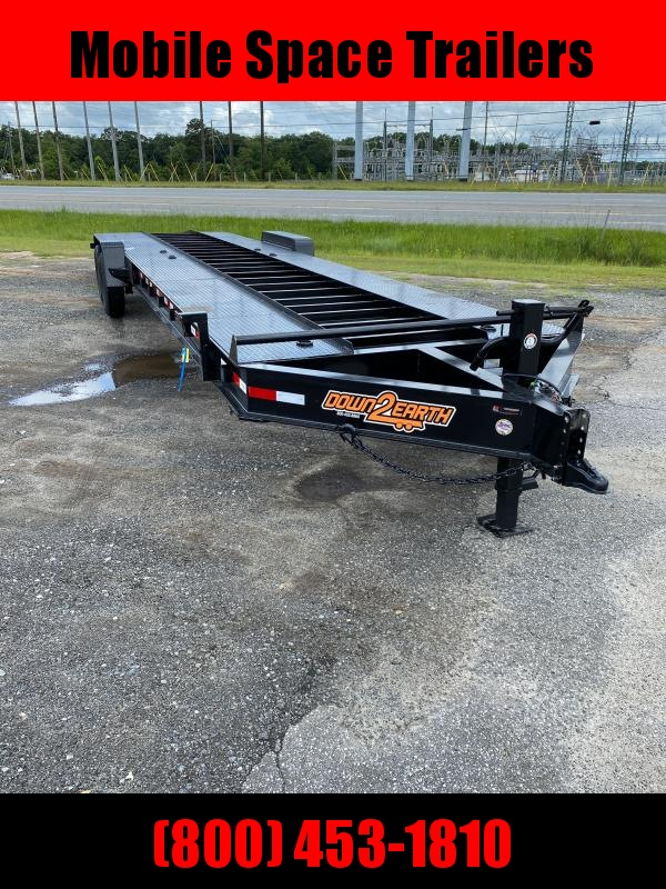 2020 Down 2 Earth Trailers 82x34 Steel Open Deck 2 Carhaluer Car / Racing Trailer