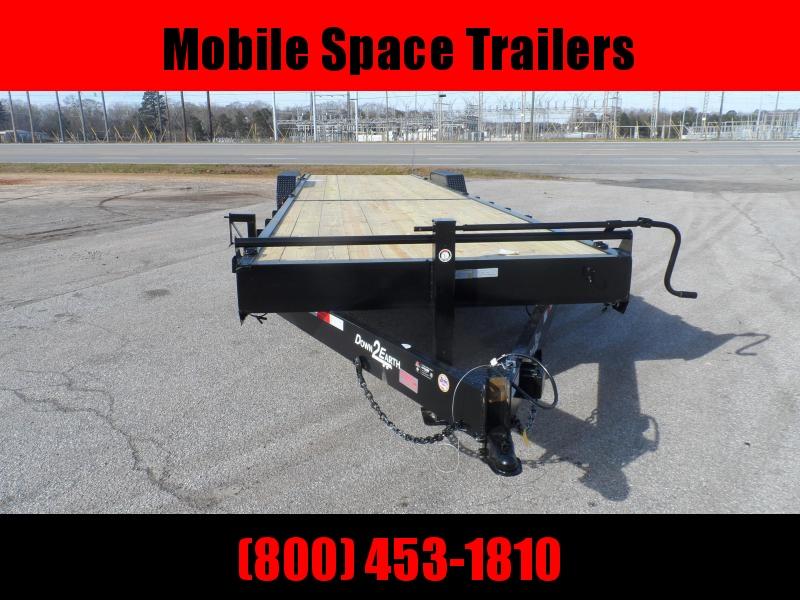Down 2 Earth Trailers 34' 2 Car Hauler wood deck