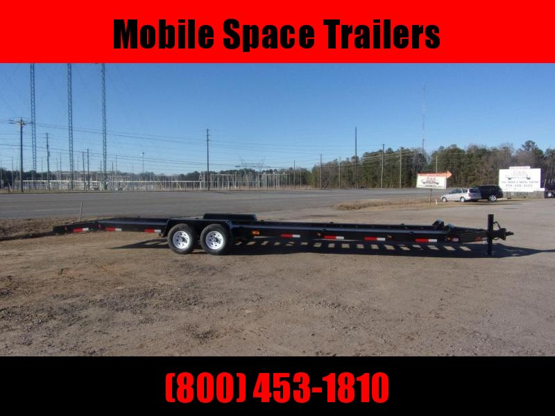 "Superior Trailers 34 2 Car Hauler 8"" channel frame open Steel Deck trailer"