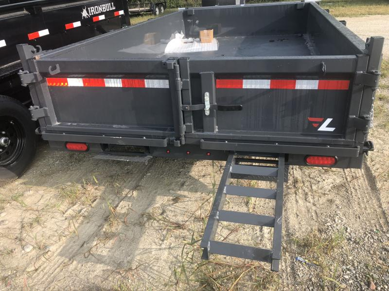 2021 LAMAR 77X12 DUMP TRAILER W/ 52K AXLES