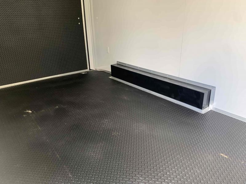 2021 ROCK SOLID 8.5 X 16 X 6.5 ENCLOSED CARGO TRAILER WITH A/C UNIT