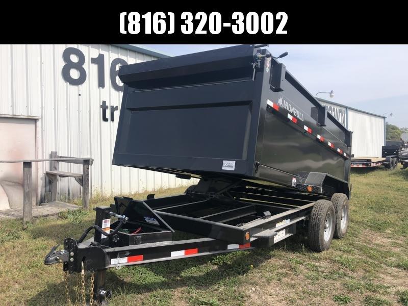 2021 IRON BULL 83X14 DUMP TRAILER W/ 48