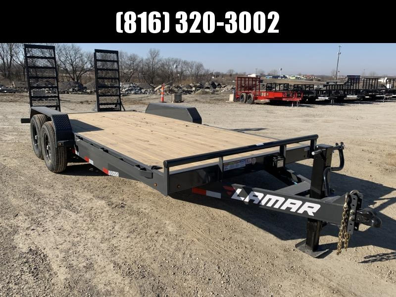 2021 LAMAR 83X18 EQUIPMENT TRAILER W/7K AXLES