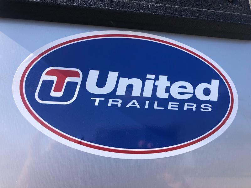 2021 UNITED 7x16x6 ENCLOSED CARGO TRAILER