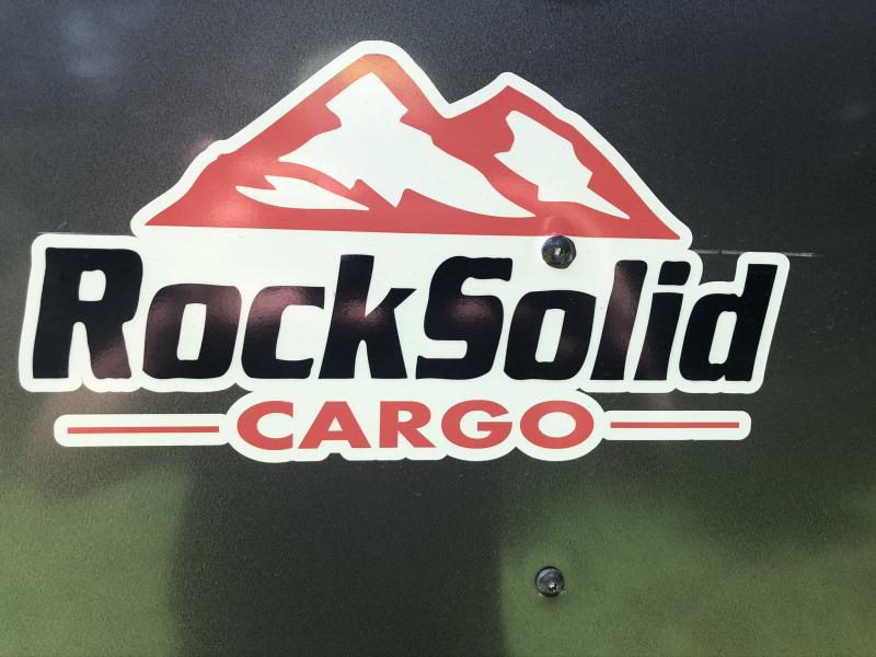 2020 ROCK SOLID 5 X 10 X 5 ENCLOSED CARGO TRAILER