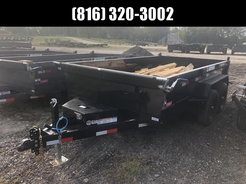 2021 LAMAR 77X12 DUMP TRAILER W/ 52K AXLES