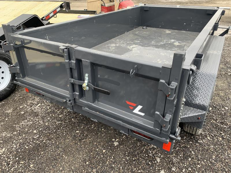 2021 LAMAR 60 X 10 MINI DUMP TRAILER