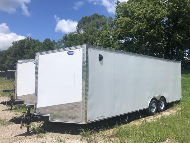 2021 UNITED 8.5 X 27 X 6.5 ENCLOSED CARGO TRAILER