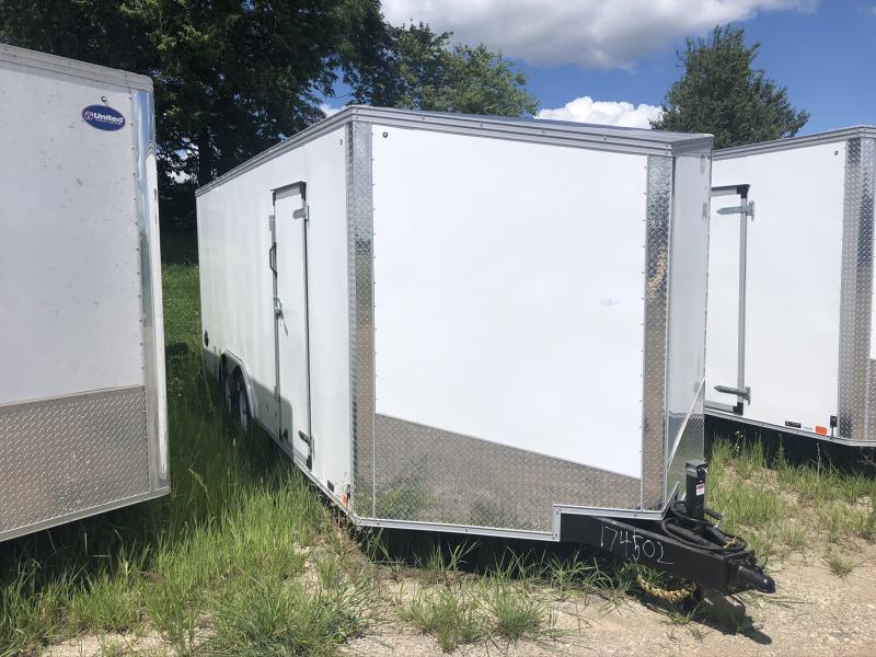 2021 UNITED 8.5 X 23 X 6.5 ENCLOSED CARGO TRAILER