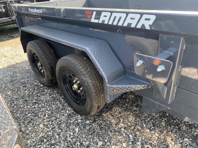 2021 LAMAR 60 X 10 MINI DUMP TRAILER