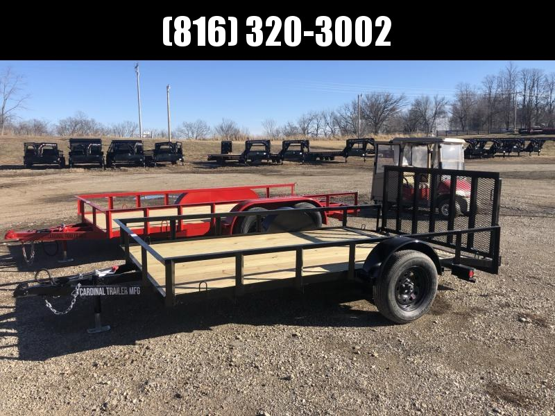 2020 CARDINAL 76 x 12 UTILITY TRAILER W/ 2' DOVE TAIL