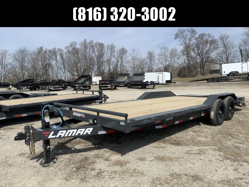 2021 LAMAR 102x22 EQUIPMENT TRAILER W/ DRIVE OVER FENDERS