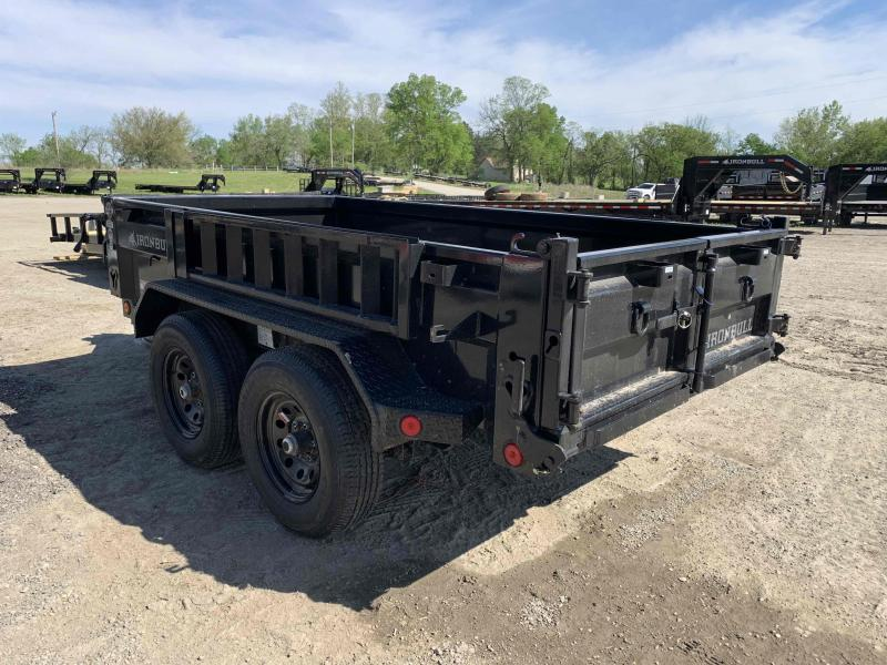 2021 IRON BULL 60X10 MINI DUMP TRAILER W/ 52K AXLES