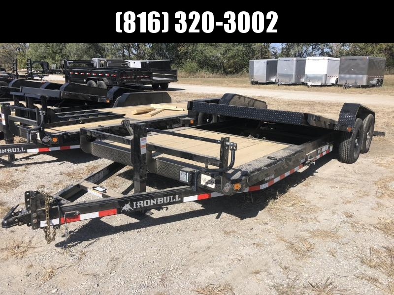 2021 IRON BULL 83X22 TILT LOPRO EQUIPMENT HAULER TRAILER