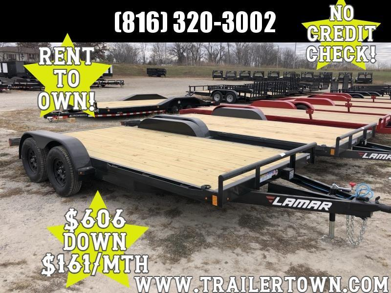 2021 LAMAR 83X16 EQUIPMENT TRAILER