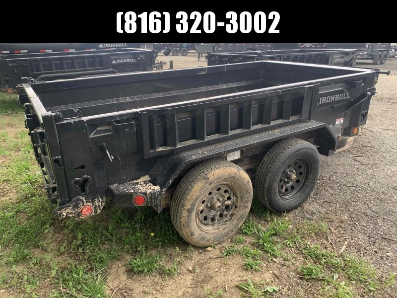 2021 IRON BULL 60X10 MINI DUMP TRAILER