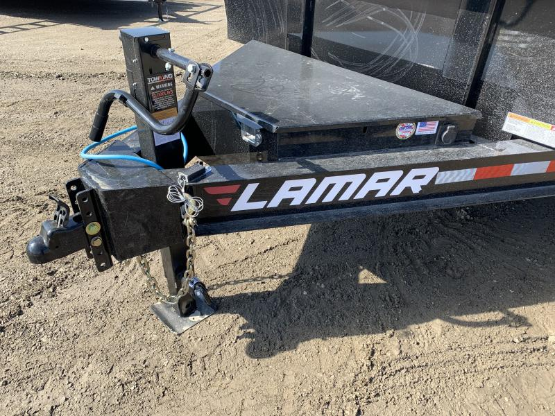 2021 LAMAR 83X12 DUMP LOPRO TRAILER W/ 14 PLY TIRES