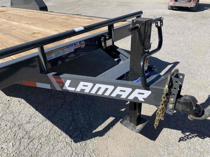 2021 LAMAR 83X20 EQUIPMENT TRAILER W/7K AXLES