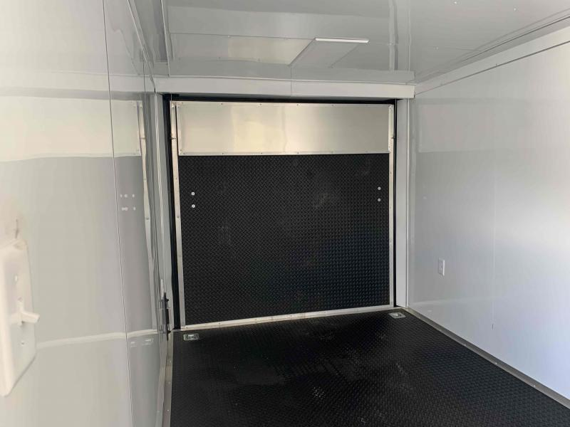 2021 ROCK SOLID 7 X 16 X 6.5 ENCLOSED CARGO TRAILER WITH A/C UNIT