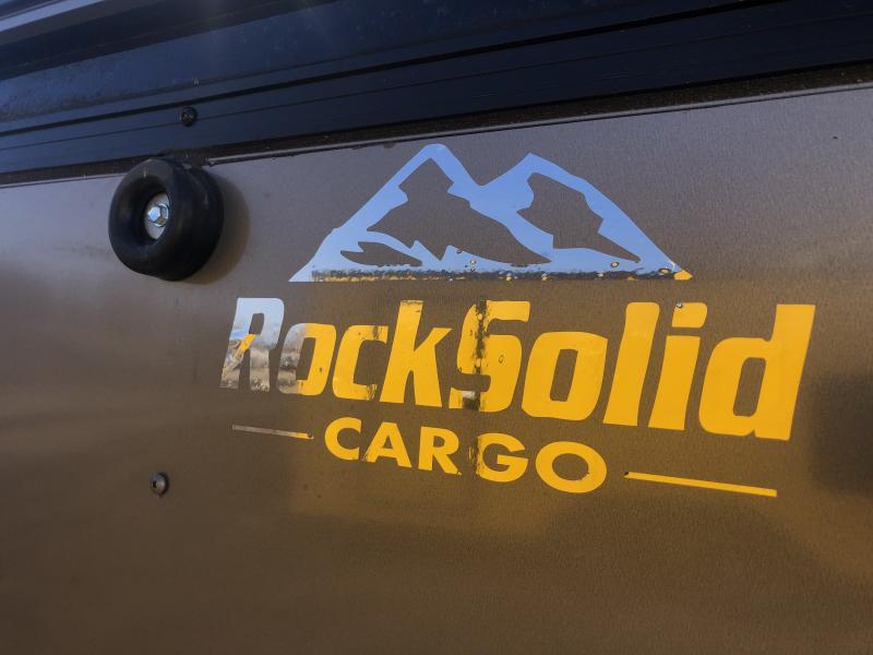 2021 ROCK SOLID 5 X 8 X 5 ENCLOSED CARGO TRAILER