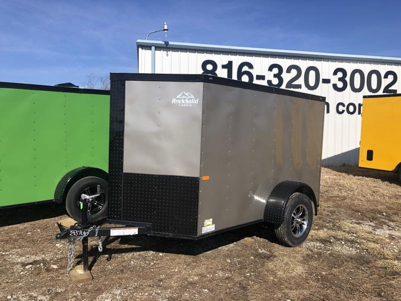 2021 ROCK SOLID 5 X 8 X 5 ENCLOSED CARGO TRAILER